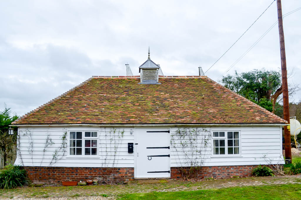 Tenterden Roofing Goddards Green Oast Annex, Godsards Green, Benenden, Kent