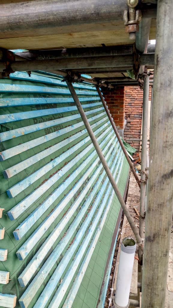 Tenterden Roofing- Thorn Oast - Kent Peg Battens