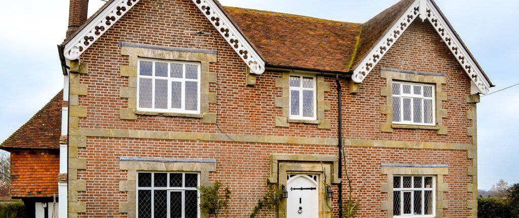 Tenterden Roofing - Red Brick Double Frontage
