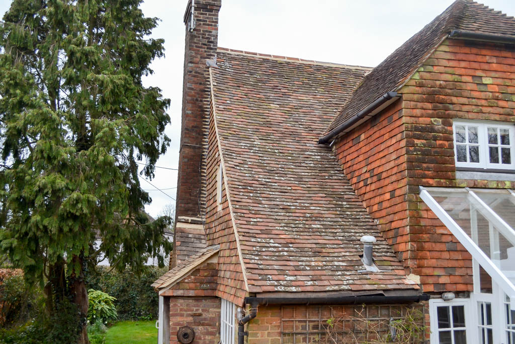 Tenterden Roofing - Kingsgate Cottage - Roof and Vertical Tiling