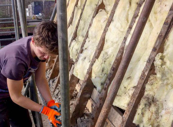 Tenterden Roofing - Thorn Oast - Team at work