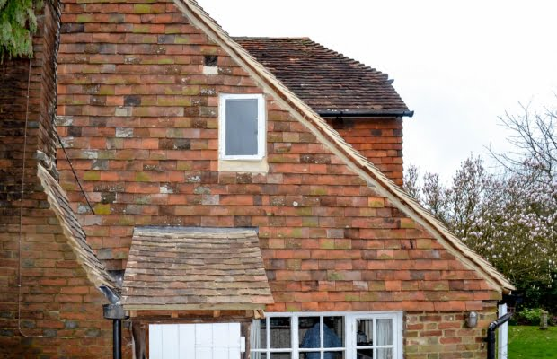 Tenterden Roofing - Kingsgate Cottage - Vertical Tiling