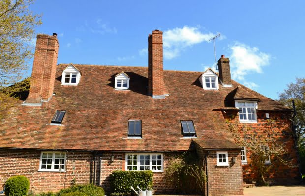 Tenterden Roofing - The Red House, Benenden, Kent